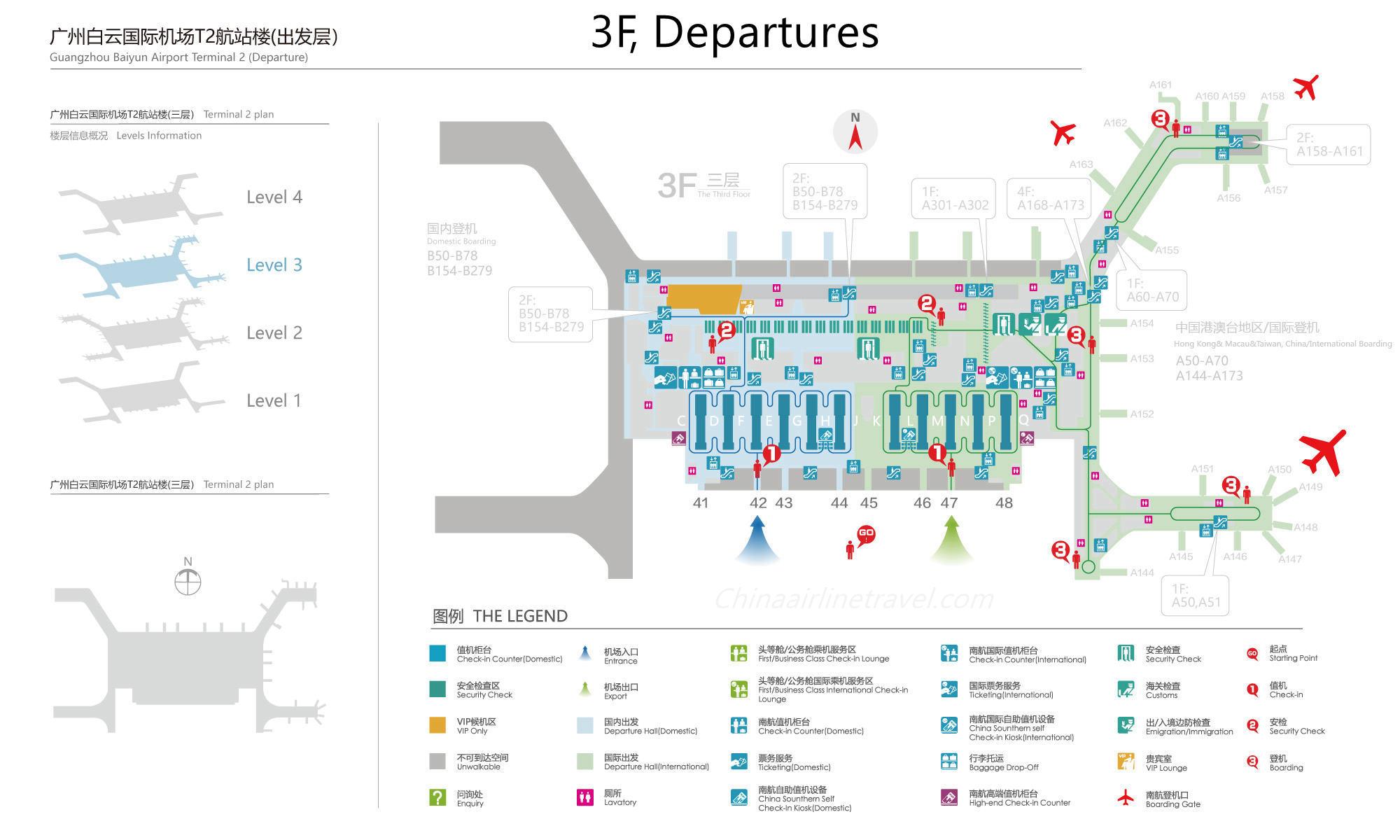 Guangzhou Baiyun International Airport - ZGGG - CAN ...