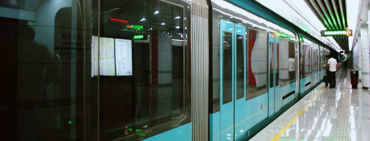 Metro line 1 to Changchun Railway station