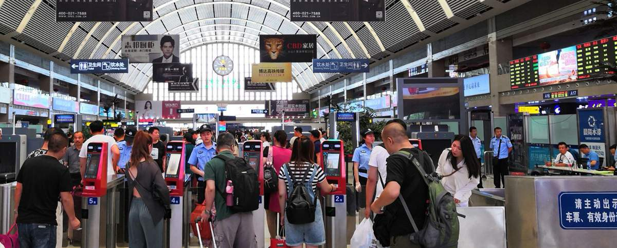 Departures at Shenyang Railway Station