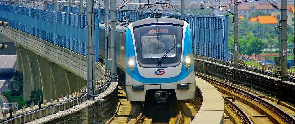 Metro line 2, subway at Suzhou North Railway station, Suzhou Bei Train Station
