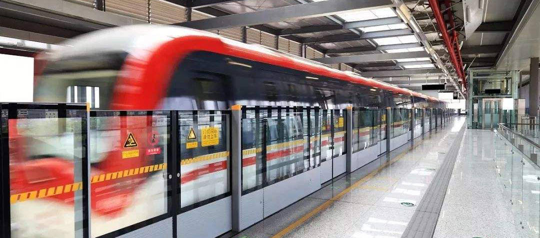 Metro line 1, subway at Tianjin West Railway station, Tianjin Xi Train Station