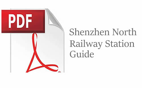 Shenzhen North Railway Station Guide PDF