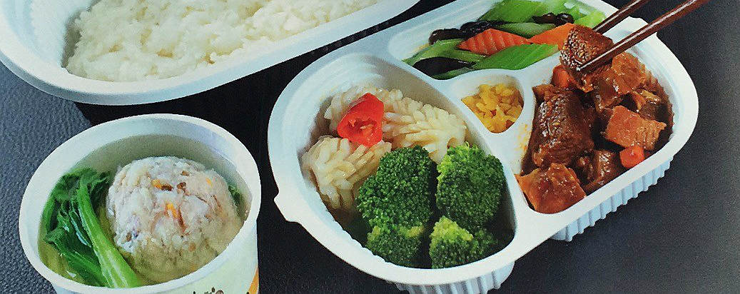 Food in high-speed trains