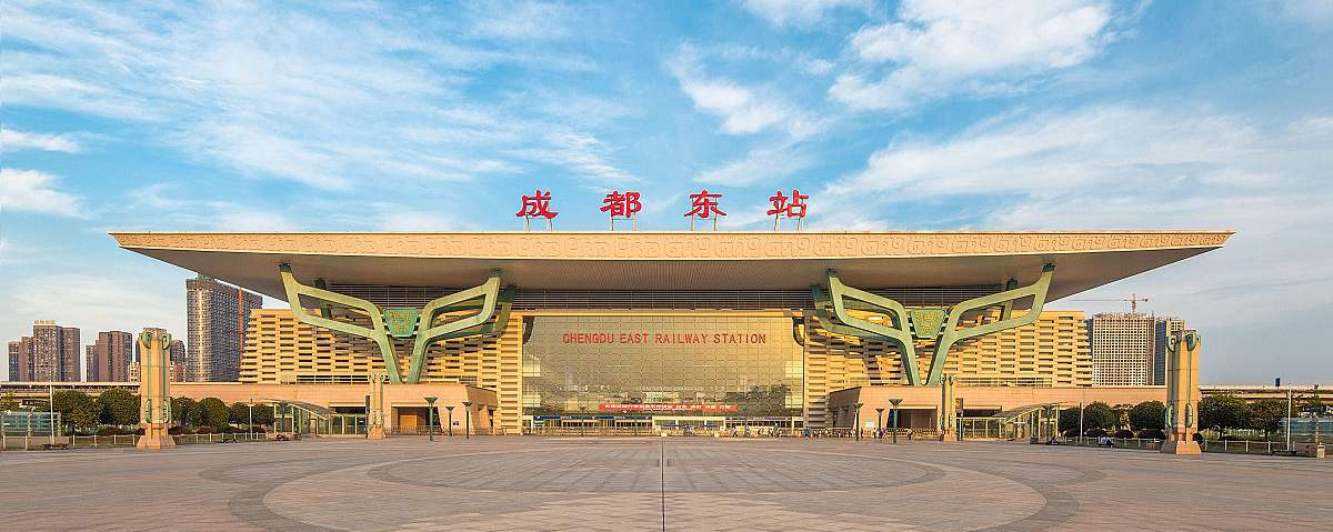 Chengdu East Railway Station, bullet trains, high speed trains Chengdu to Leshan