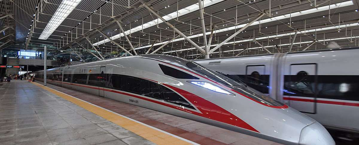 Shenzhen North Railway Station, bullet trains, high speed trains to Hong Kong West Kowloon