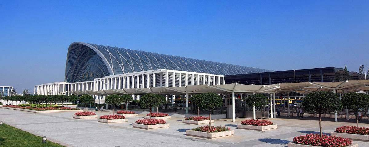 Tianjin West Railway Station, bullet trains, high speed trains Tianjin to Jinan